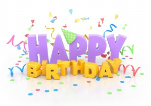 А у нас день рождения!
