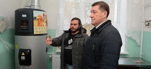 В школе № 93 с. Лебяжье при участии Комитета Алтайской ТПП по энергетике реализован проект по установке системы геотермального отопления