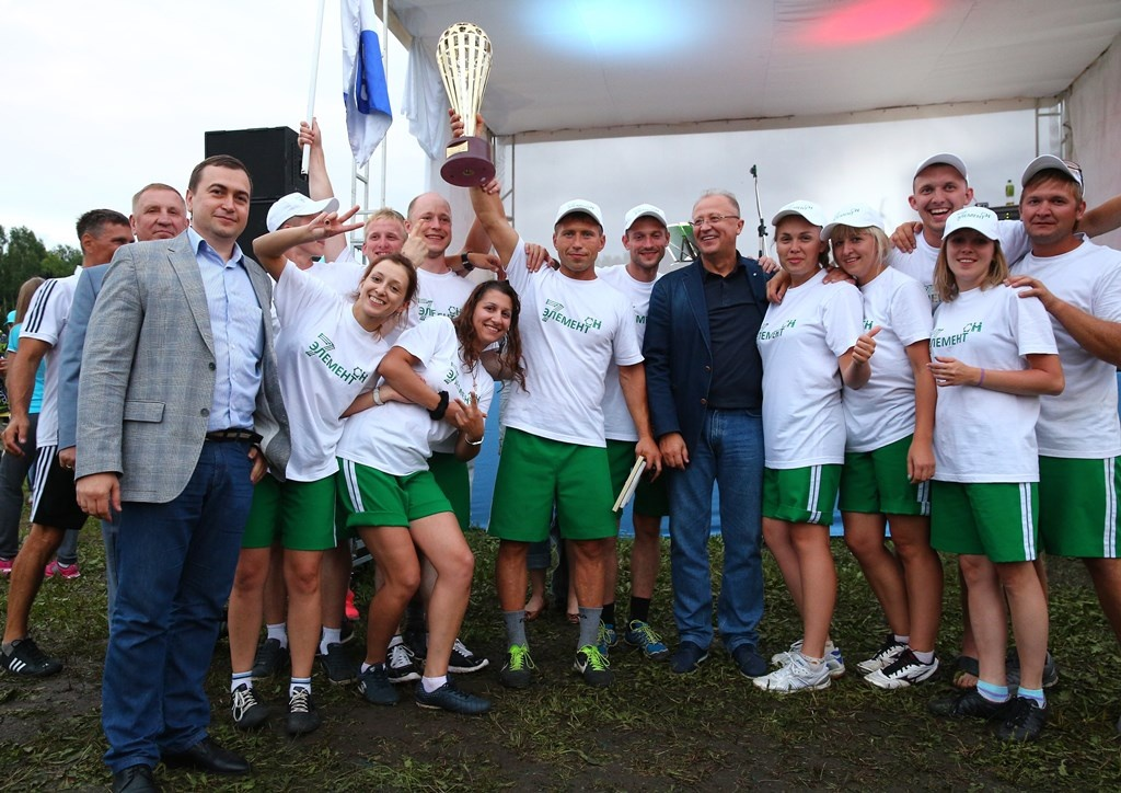 Команда ОАО Алтайвагон на молодежном фестивале