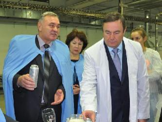 Барнаульский пивоваренный завод официально открыл линию по розливу в алюминиевые банки