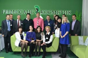 Открытие модернизированного складского комплекса ООО»Ренессанс Косметик»